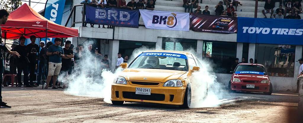 Sự kiện đua xe BK8