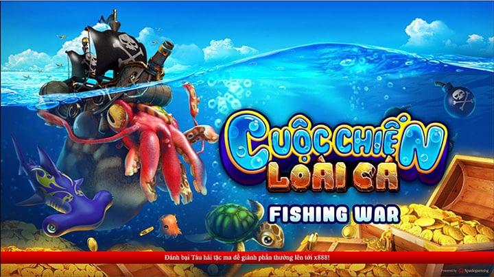 Giao diện fishing war