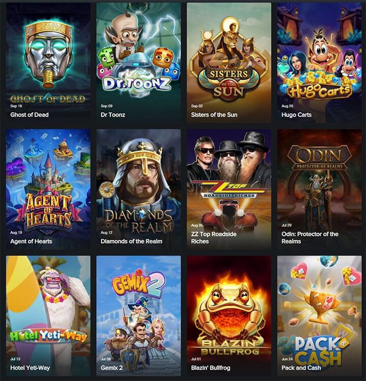 Game Slots Play'n go