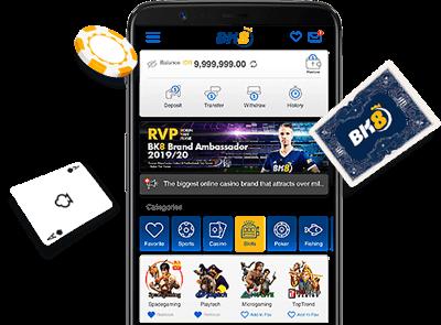 BK8 App công nghệ tiên tiến
