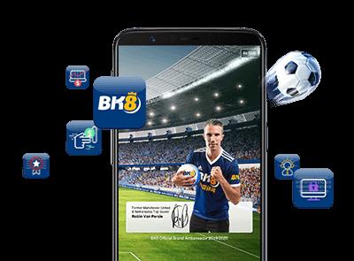 App BK8 dung lượng nhỏ