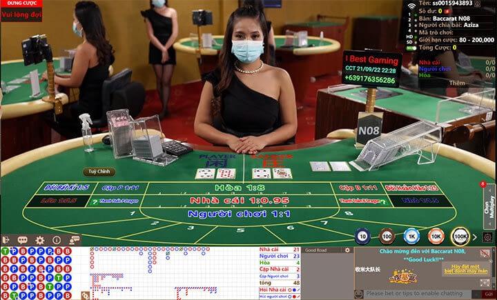 Phòng chơi Asia Gaming